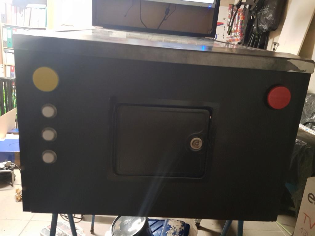[WIP] [80%] Mon pincab 4K Simpson 1110
