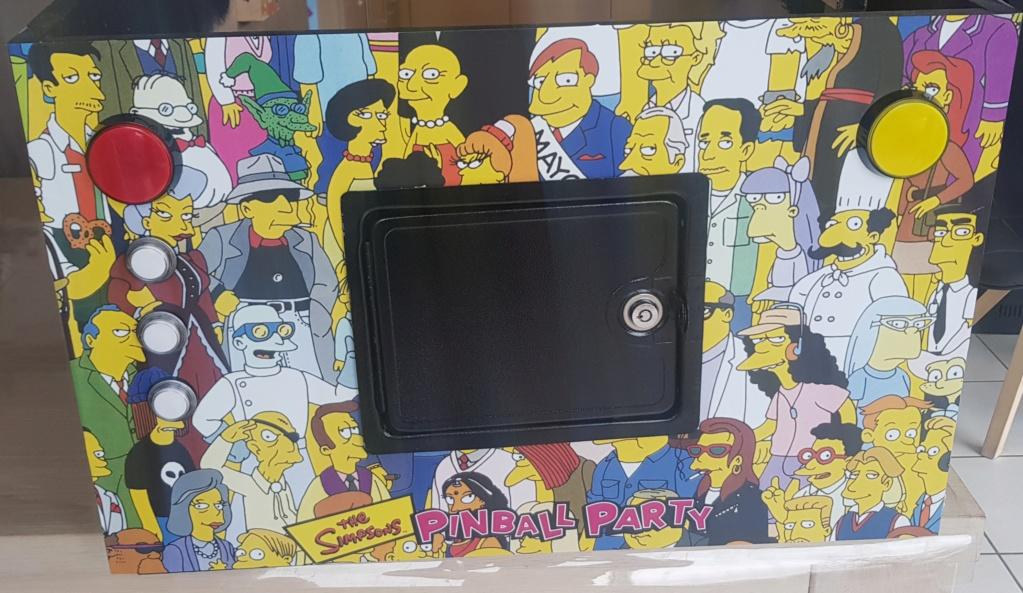 [WIP] [80%] Mon pincab 4K Simpson - Page 2 212