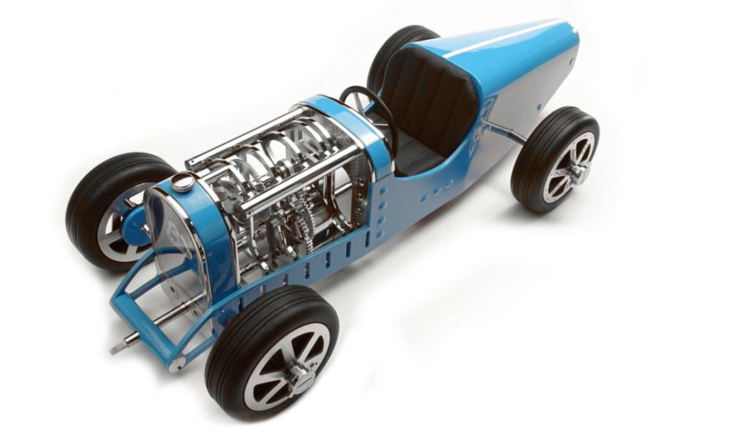 The CAR CLOCK - Mécanique d'art et automobile - John Mikaël Flaux Ccm7c10