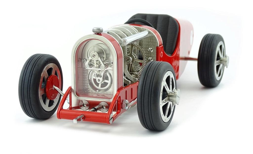 The CAR CLOCK - Mécanique d'art et automobile - John Mikaël Flaux Ccred213