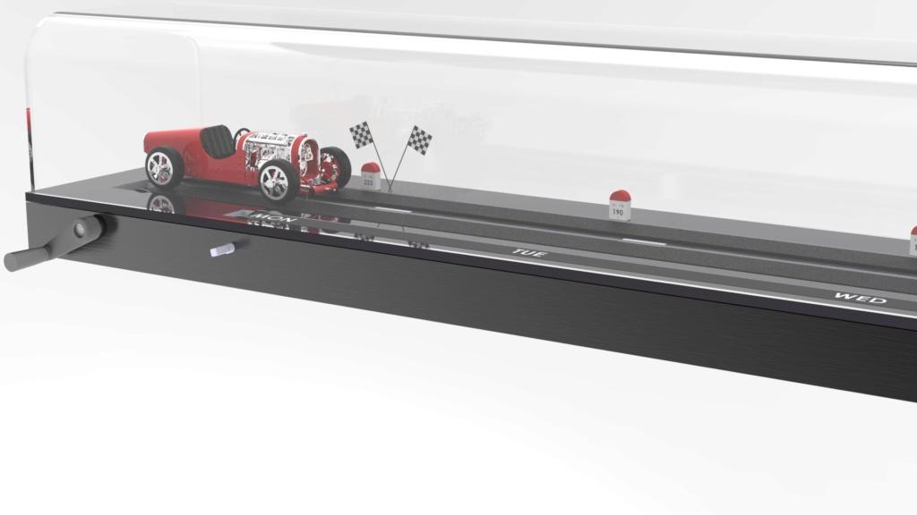 The CAR CLOCK - Mécanique d'art et automobile - John Mikaël Flaux Vitrin11
