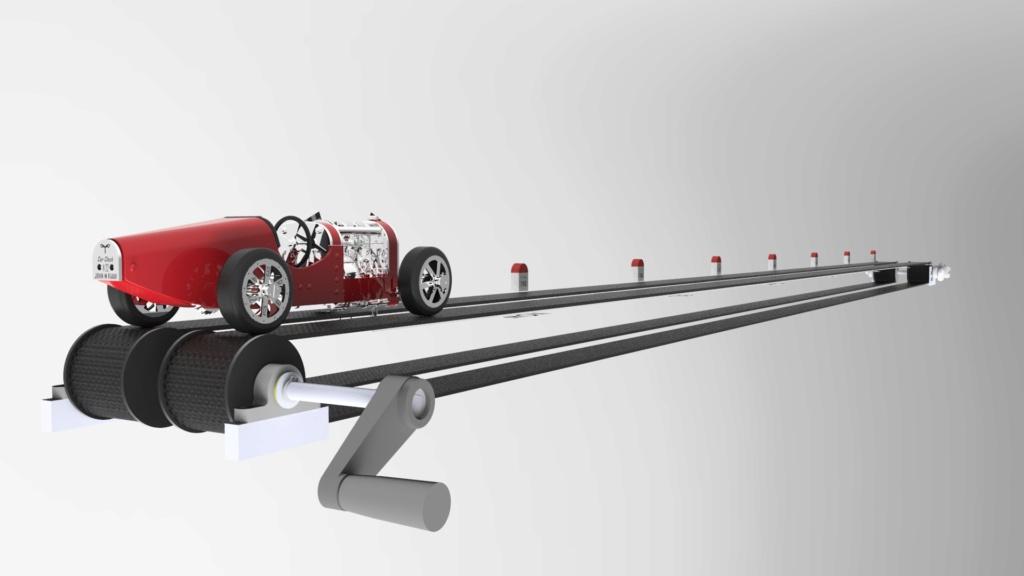 The CAR CLOCK - Mécanique d'art et automobile - John Mikaël Flaux Vitrin14