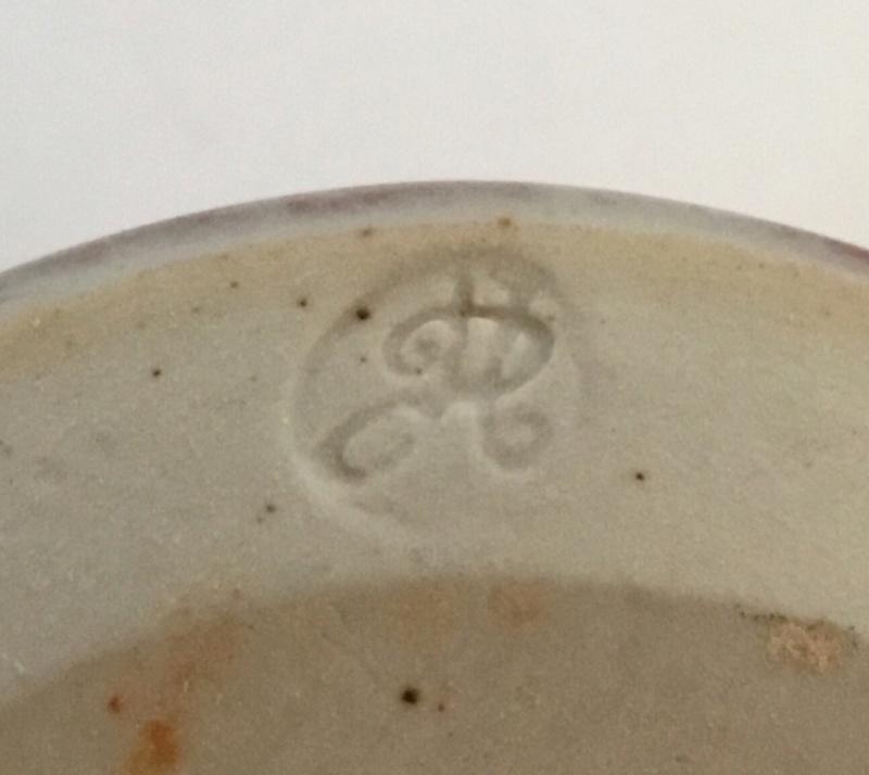 Oxblood conical studio vase, PH mark - Andrew Harding & Michael Palmer 015b2610