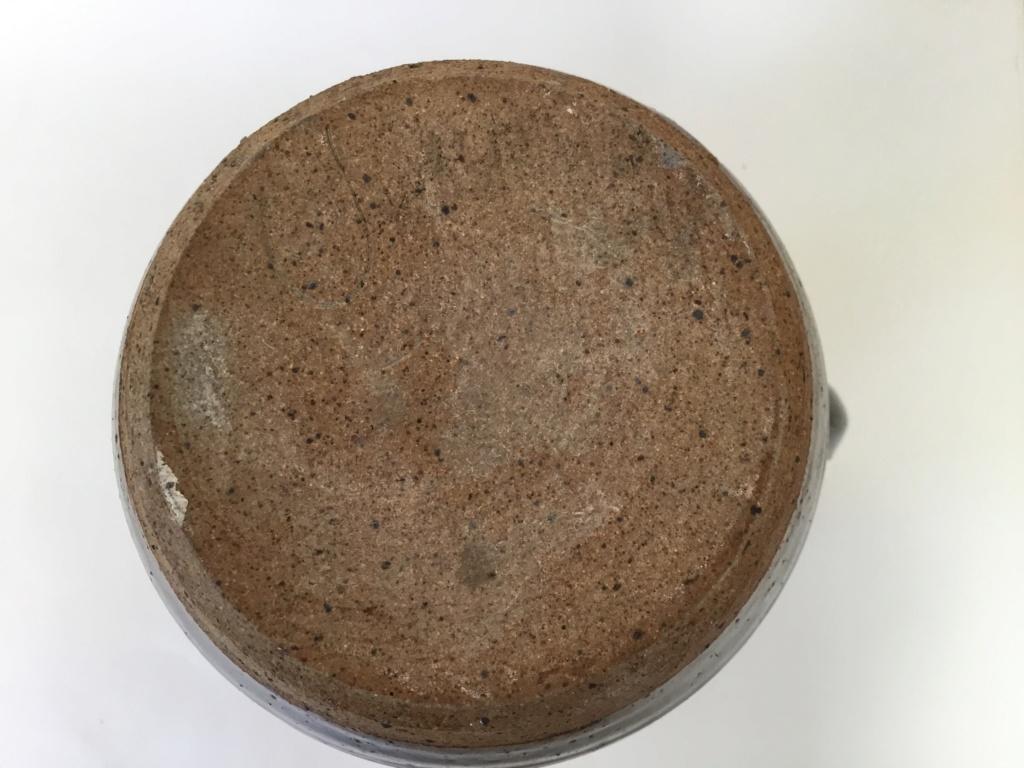 Tenmoku stoneware  jug, IC or TC impressed mark 01f21710