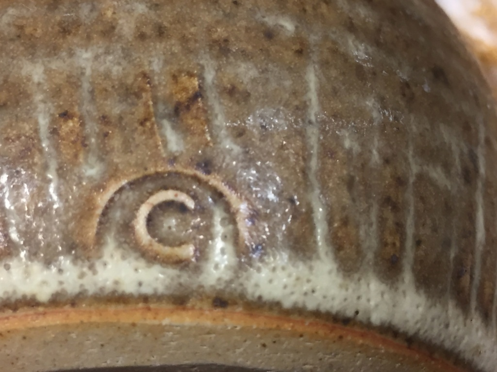 Stoneware bottle c mark 07eda910