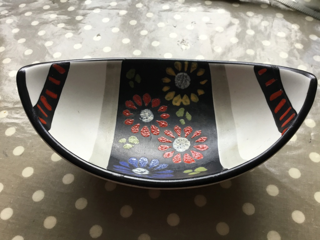 Pottery MCM bowl, German? 0d7ae810