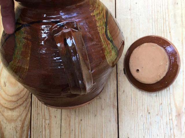 Studio teapot , Clive Bowen, verified  17045d10