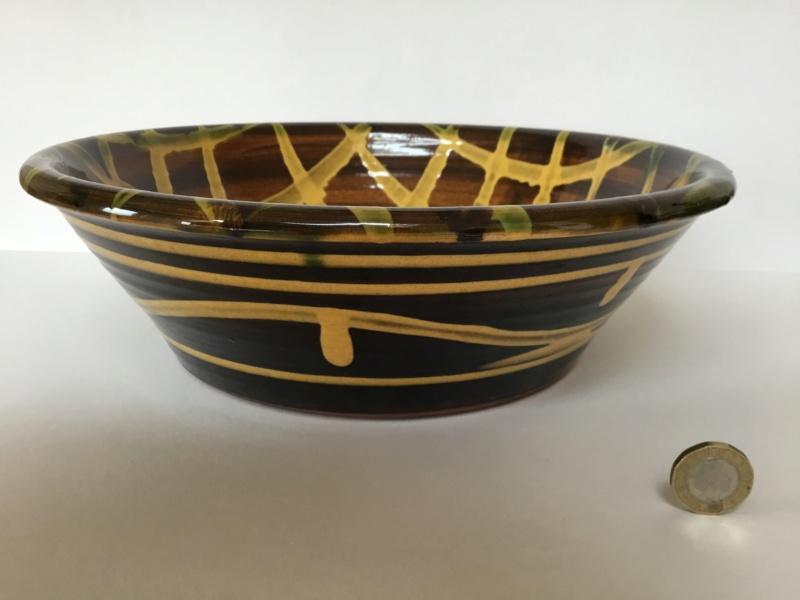 Large slipware bowl, Clive Bowen?  25ba6010