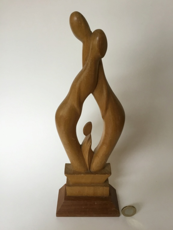 Figural abstract sculpture, mid century look 26914510