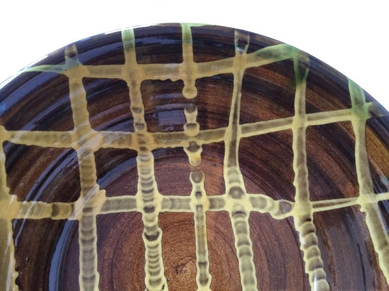 Large slipware bowl, Clive Bowen?  28371e10