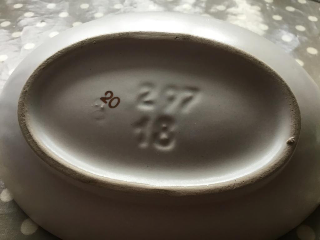 Pottery MCM bowl, German? 2c1bf610
