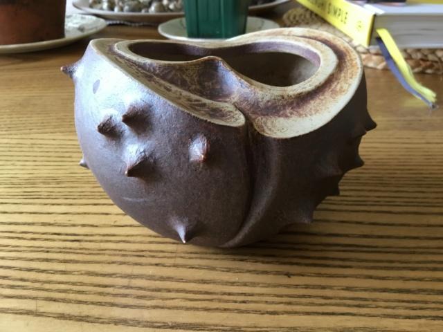 Horse chestnut shape plant pot 2fc34610