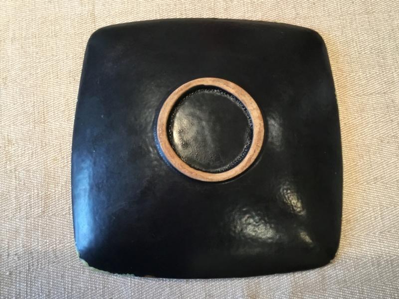 Very textured lava mid century dish 39106d10