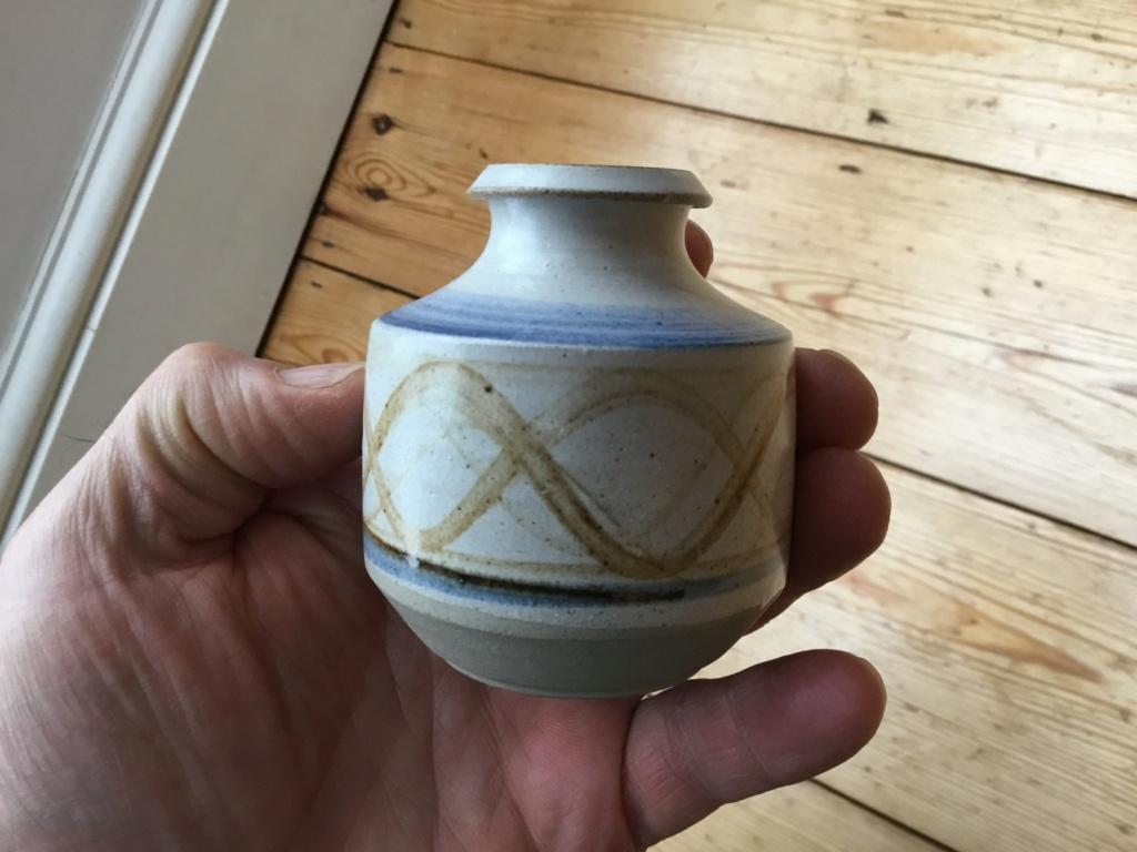 Studio vase, glaze test 393e8010