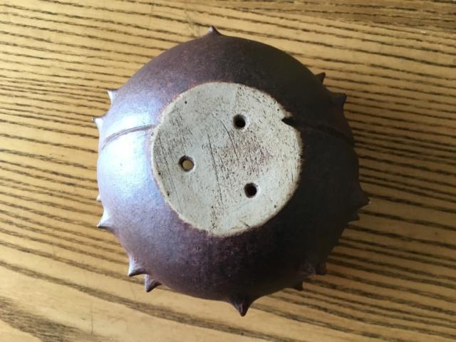 Horse chestnut shape plant pot 413df310