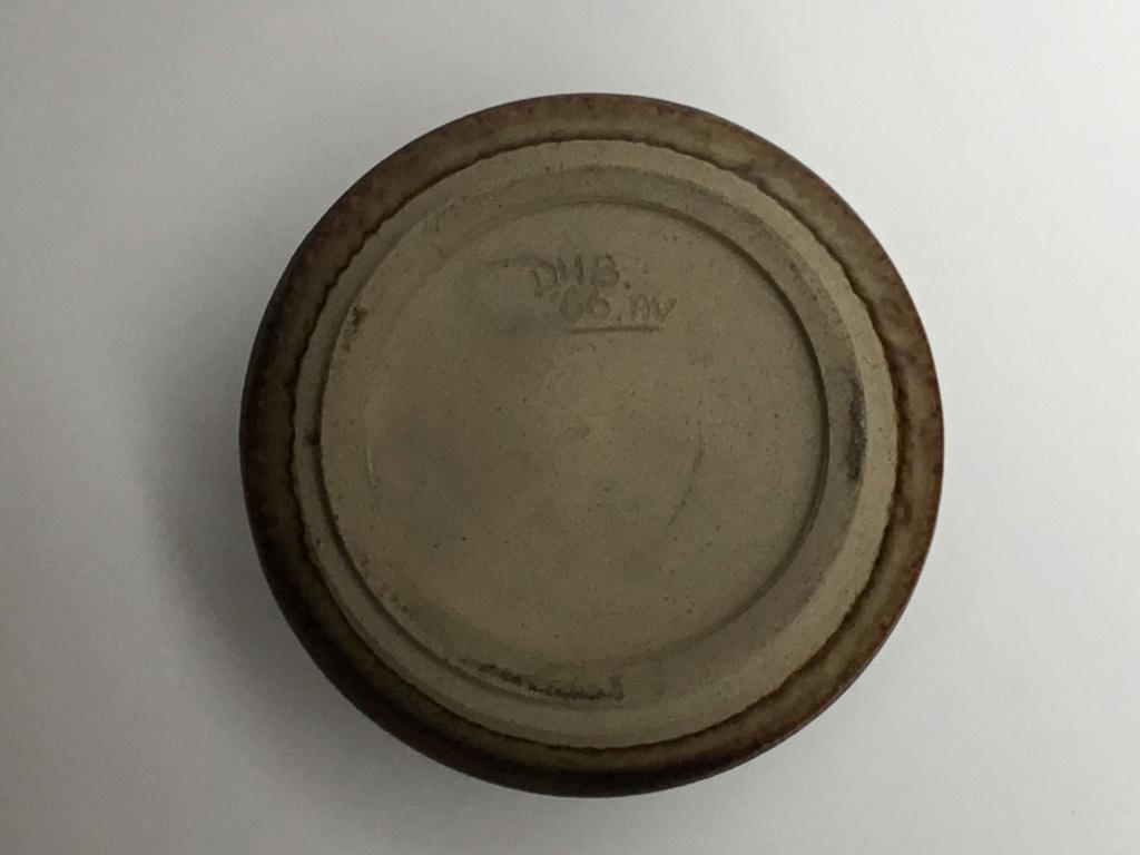 Studio vase dated 1966 DHB AV marks 42a2ac10