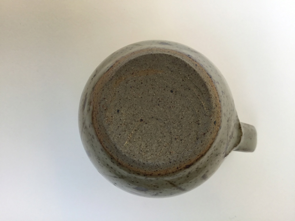 Stoneware studio milk jug, no mark 499fc710