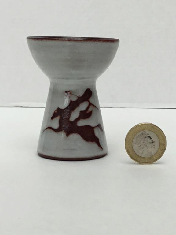 Small studio horseman vase / Eggcup, 1958, KVM - Kees van Moorsel, Dutch  4e8e6110