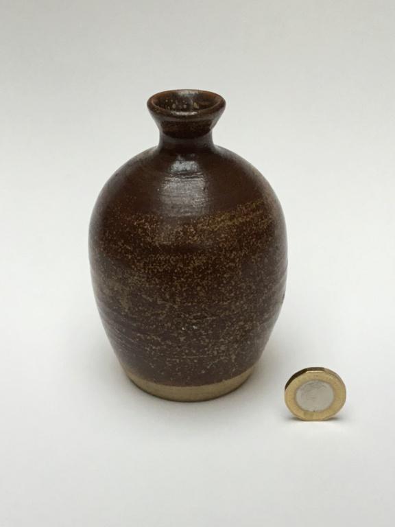 Studio Bud vase, m mark?  5356d910
