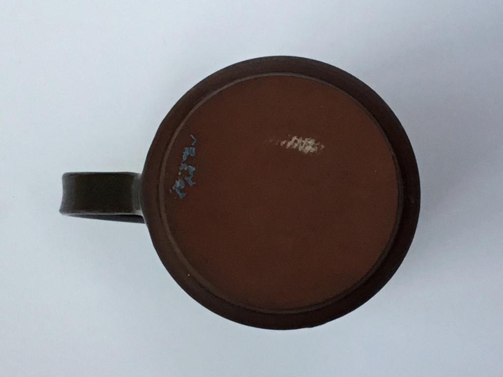 Studio pottery mug, classical decoration 55bc2910