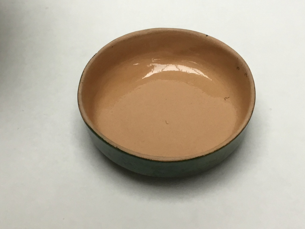 Green ginger jar, raised wheat, ARC 1994 59b38210