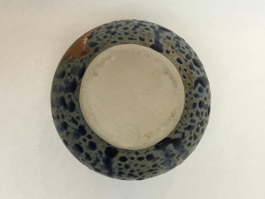 Carved African face studio vase 5efcec10
