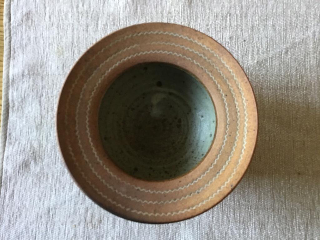 Stoneware tripod cauldron, Lotus Pottery, Skipworth 6a3ade10