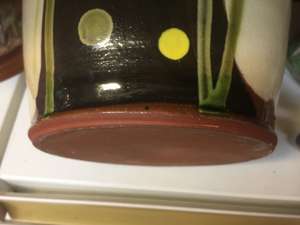 Earthenware studio pot, unmarked 6bbcbf10