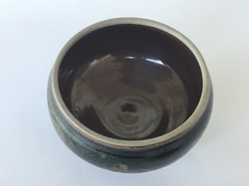 Lidded studio pot, very decorated, unmarked 72096a10