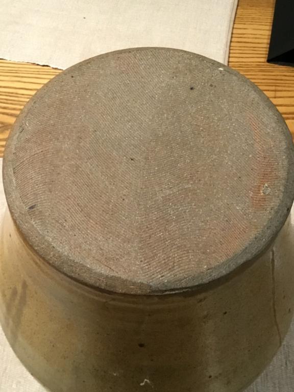 Large studio lidded jar, circle inside square mark 72a30a10