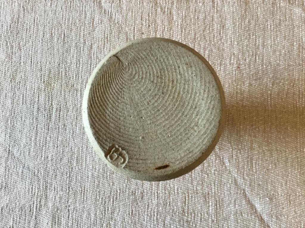 Studio stoneware vase, marked CF?  73a78610