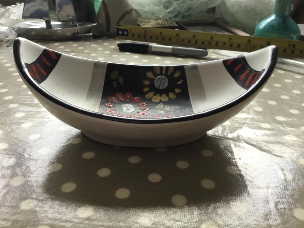 Pottery MCM bowl, German? 78b47510