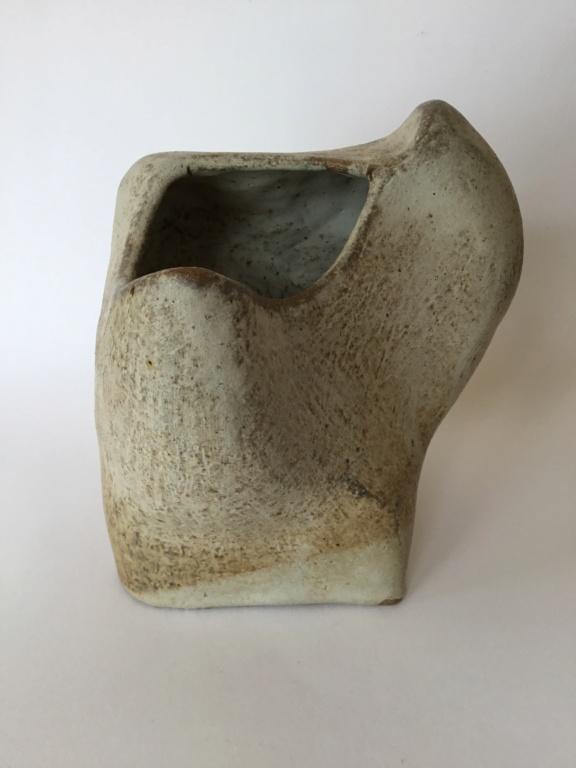 Sculptural studio vessel 1960s 70s look 7a1a7510