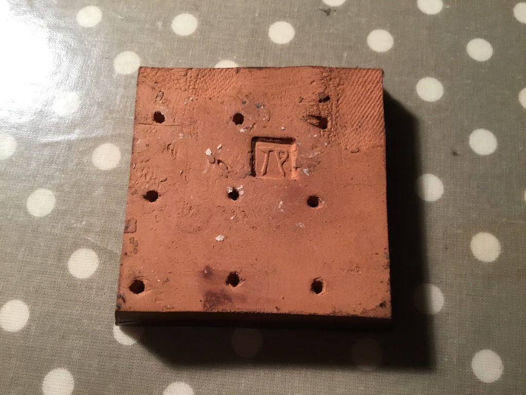 Encaustic tile of bird, TP mark 85894510
