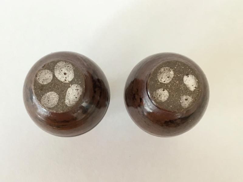 Miniature stoneware vases, unmarked 8f8d1e10