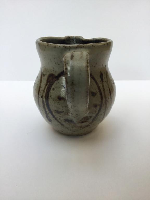 Stoneware studio milk jug, no mark 916d5810