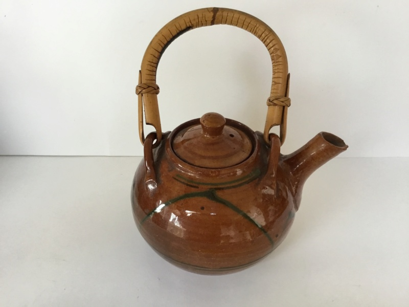Early earthenware studio teapot 961ab510