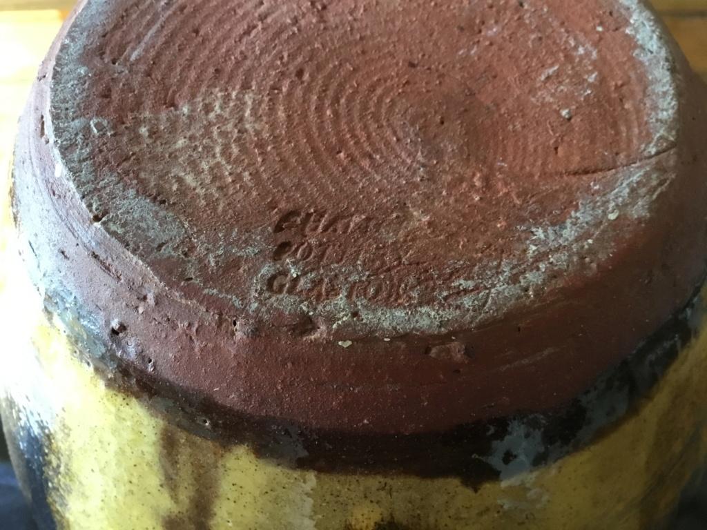 Studio cider flagon, William Worrall? Chalice Well, Glastonbury 9e383510