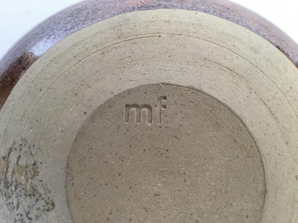 Tenmoku studio bowl mf mark  A3a37710