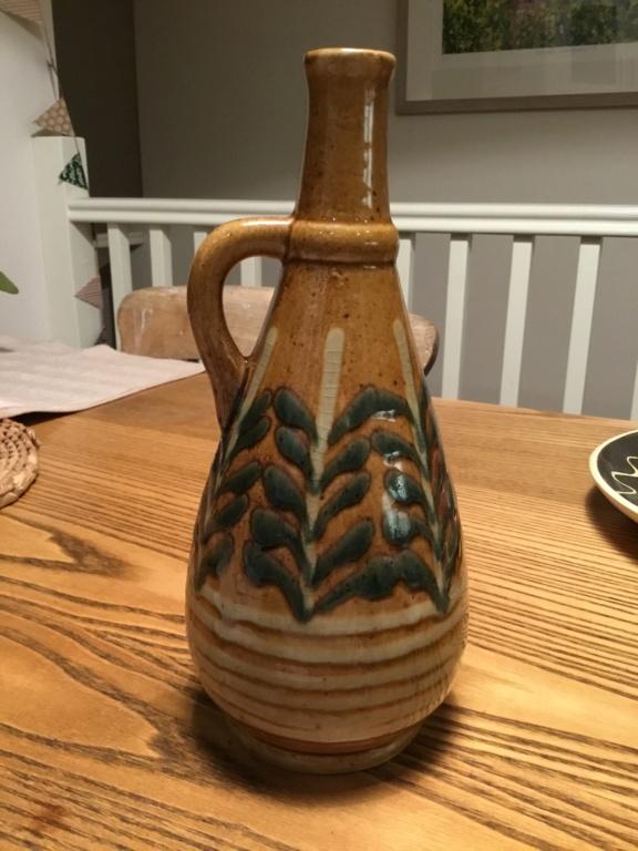 Mid century style vase, German?  A4093c10