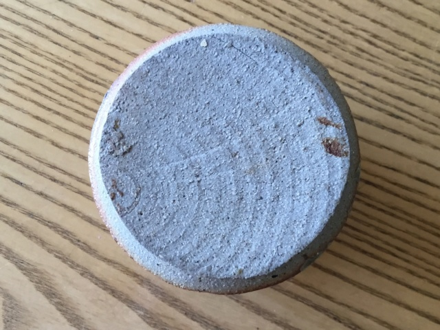 Small ash glaze jar, not Batterham?  A86cc910