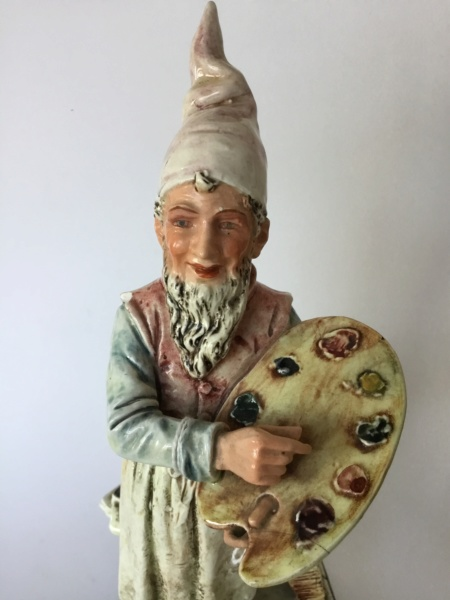 30 cm artist figurine, probably German or Austrian A9394e10