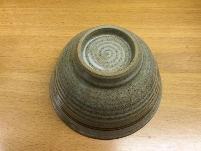Studio stoneware bowl, flower mark - Calendula Pottery  Ae8b3f10