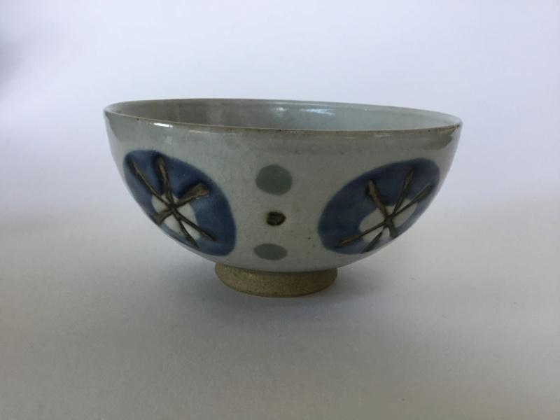Japanese style stoneware studio bowl - Mexico / Mexican stoneware  B0b52510