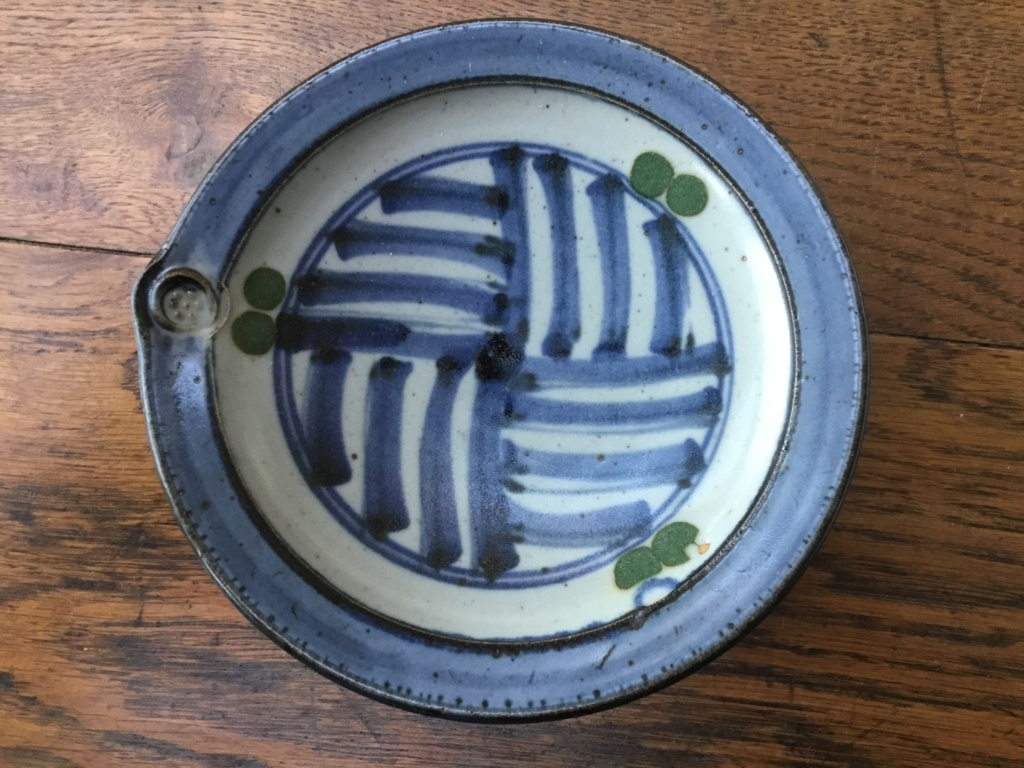 Studio dish like Colin Kellam, Mark diamond in circle? B3e2f610