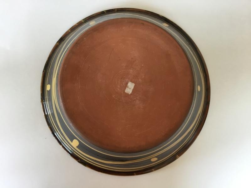Large slipware bowl, Clive Bowen?  B6c78410