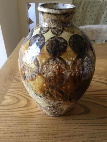 Studio vase, no mark Baf52210
