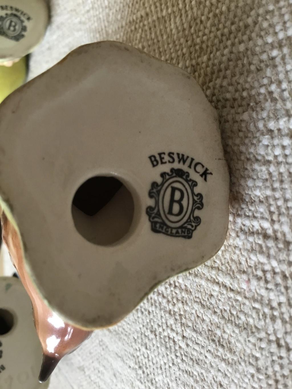 Beswick Birds backstamp date Be6aa410