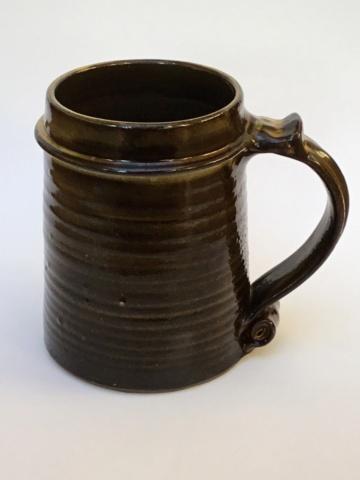 Studio teapot , Clive Bowen, verified  De85bf10
