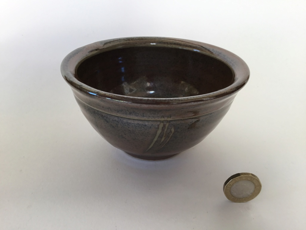 studio bowl, Tenmoku, decorated Df527410